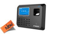 Leitor biométrico e de proximidade controlo acessos com cartão, imp. digital e código