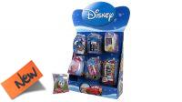 Expositor com 16 produtos Disney