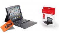 Capa e teclado p/ iPad Bluetooth 3.0 preta