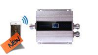 Repetidor sinal 300M2 GSM 3G 900Mhz prateado