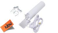 Antena Int/Ext. GSM 3G/4G Omni 698-960/1710-2700Mhz 10-12dBi 2x SMA Plug