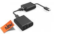 Amplificador/extensor por cabo rede Cat. 5e/6 - USB 2.0 com Hub 4 portas 60m
